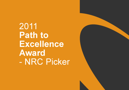 Path to Excellence Award by NRC Picker - Awarded in 2011